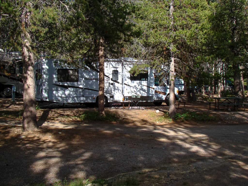 Colter Bay Campground - Grand Teton National Park Wyoming
