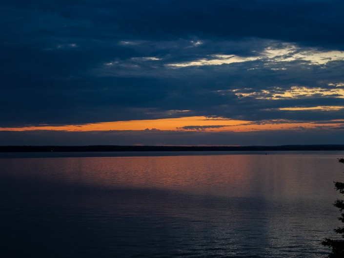 Sunset on Lake Gogebic - Marenisco, Michigan