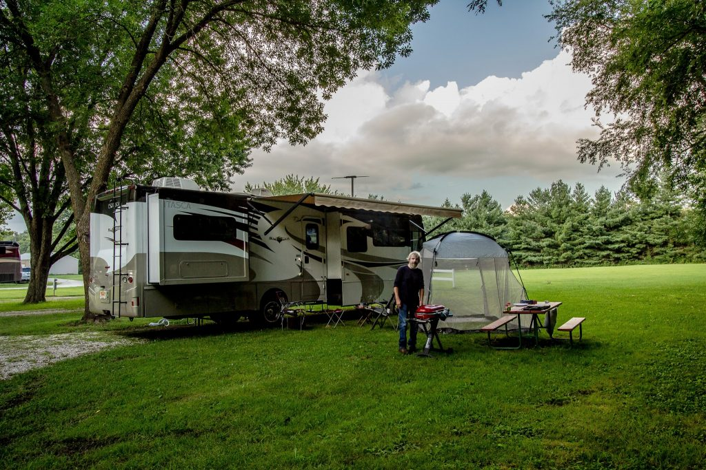 Geneseo Campground, Geneseo, IL Site #28