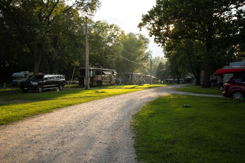 Geneseo Campground View