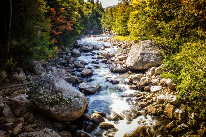 Stream at Whiteface Mountain - Adirondacks New York