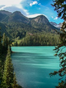Emerald Lake - view from room