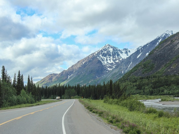 South on Highway 1A, Alaska