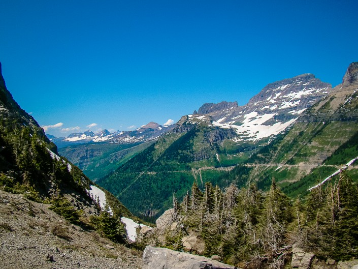 Going to the Sun Road - Glacier National Par, Montana
