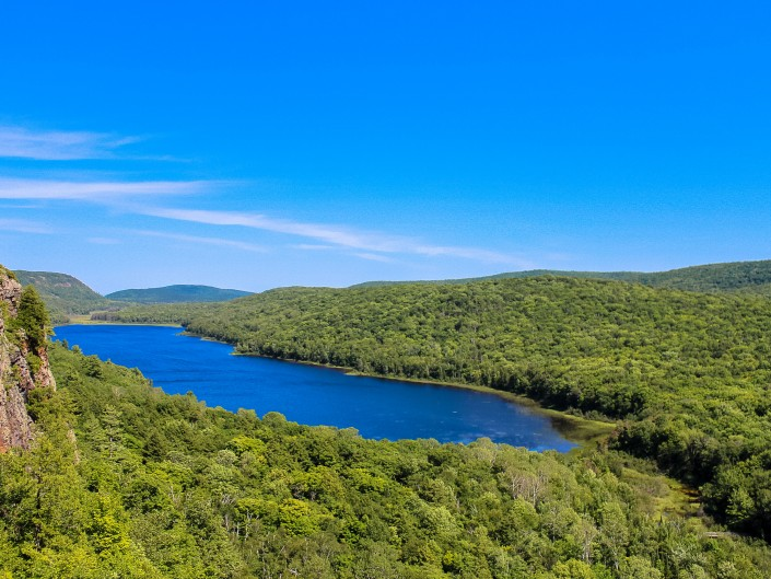 Lake in the Clouds - Porcupine Mountains State Park, Michigan