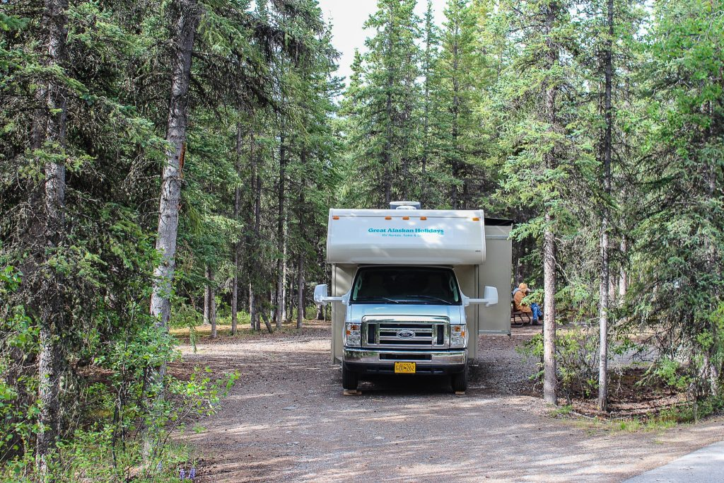 Riley Creek Campground - Denali National Park