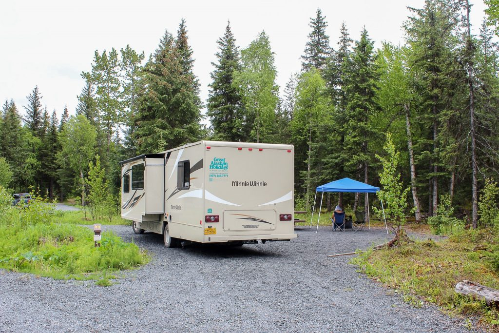 Trail River Campground - Moose Pass, AK