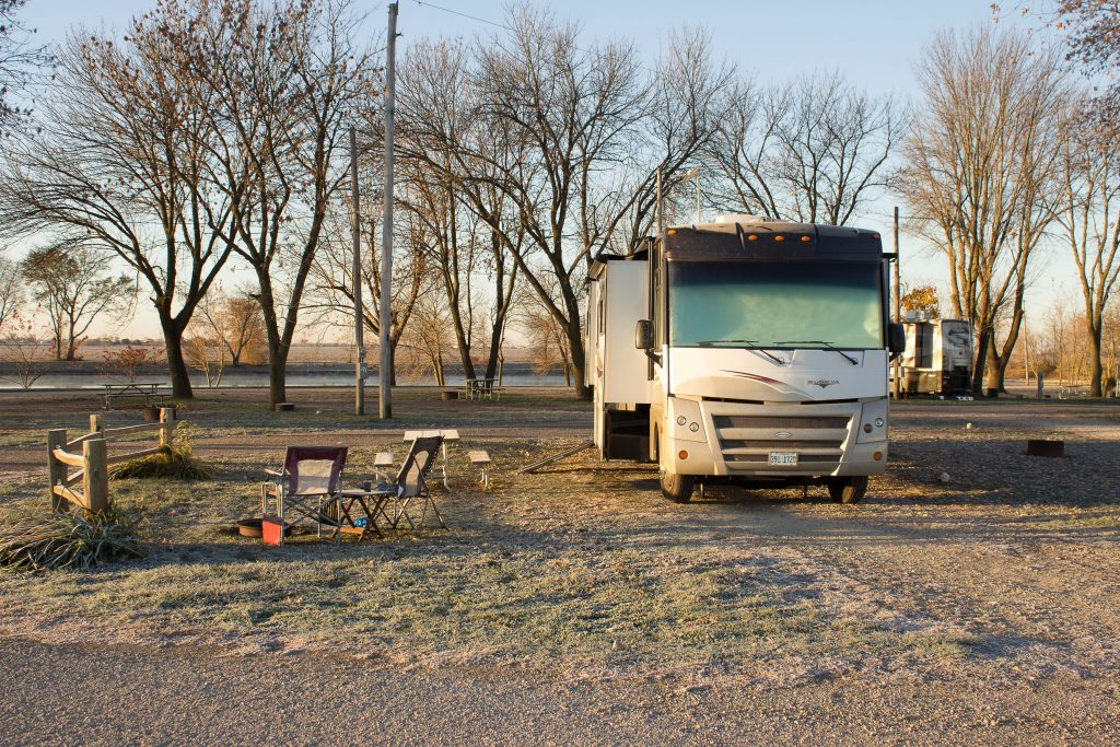 D&W Lake Campground, Champaign IL - Spot #20