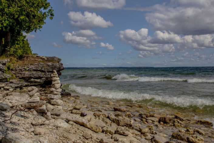 Cave Point County Park - Door County, Wisconsin