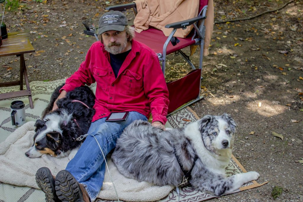 Jim and the Pups - Allegany State Park