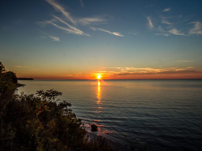 Sunset - Lake Erie State Park - Brocton, New York