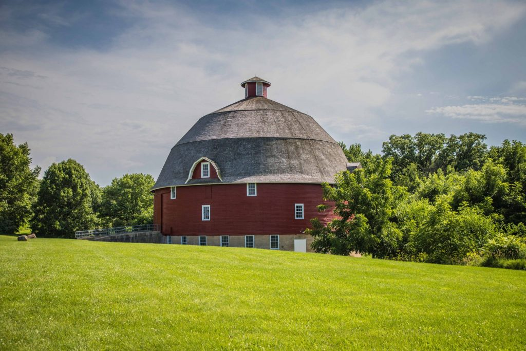 Ryan Round Barn - Johnson Sauk Trail State Park - Kewanee, IL