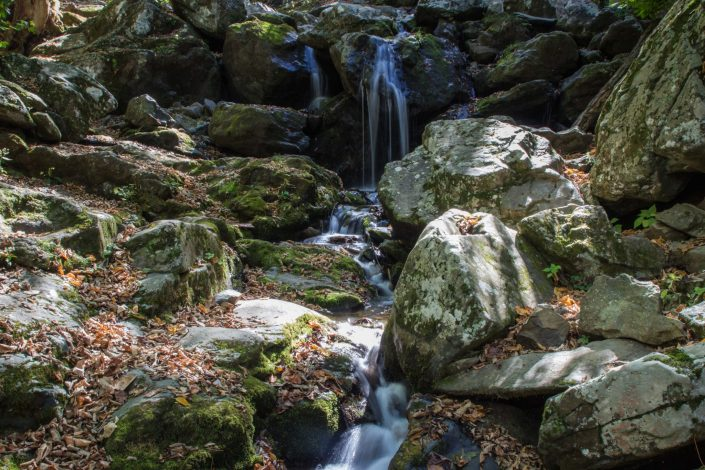 Dark Hollow Falls - Shenandoah National Park