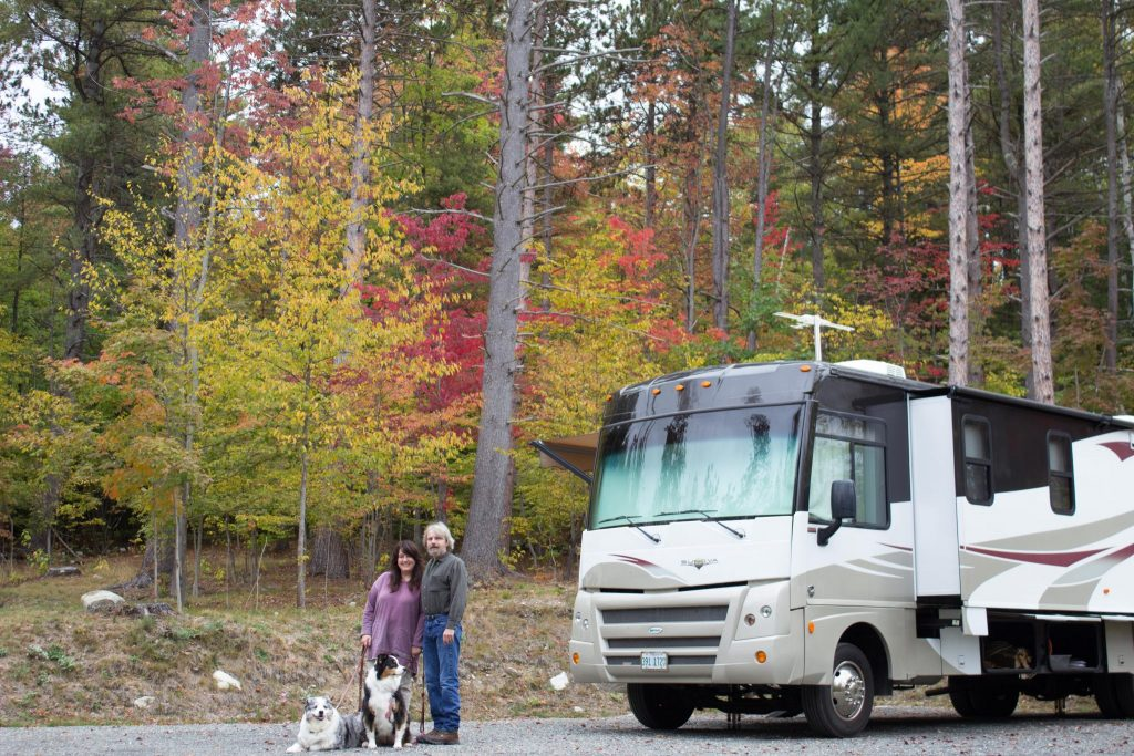North Pole Resorts Campground - 100 Acre Woods Site #33B