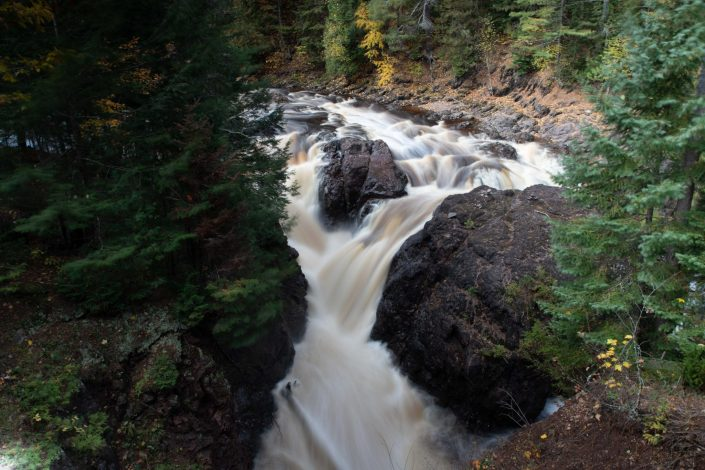 Brownstone Falls - Copper Falls State Park, Mellen Wisconsin
