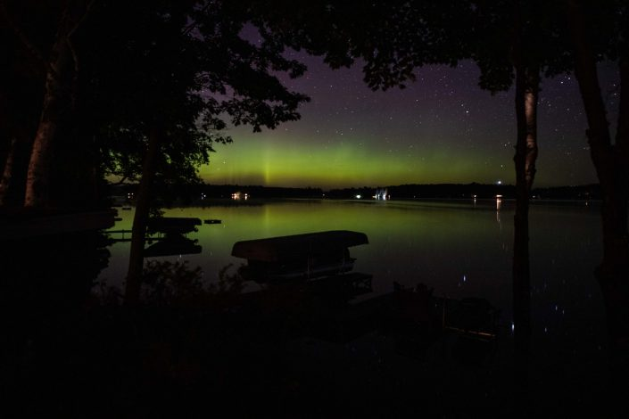 Northern Lights - Three Lakes Wisconsin
